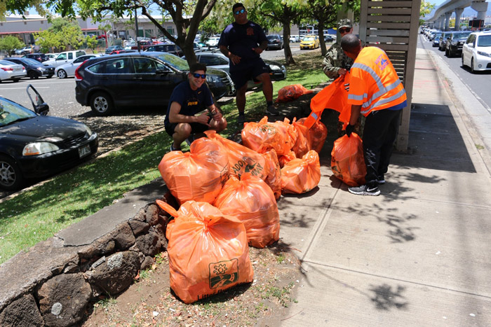 Adopt-A-Highway how we help you safety cleanup trash bags