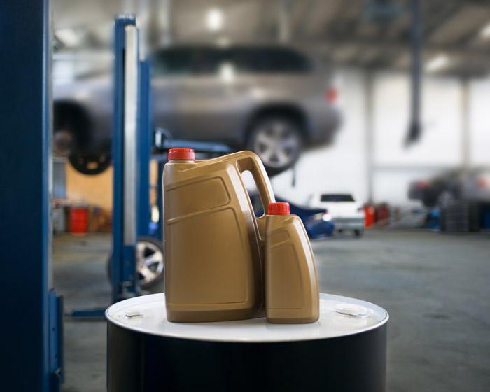 Properly store hazardous materials