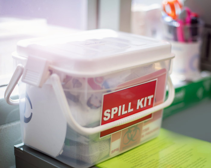 Properly respond to spills