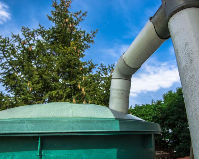 Install a cistern